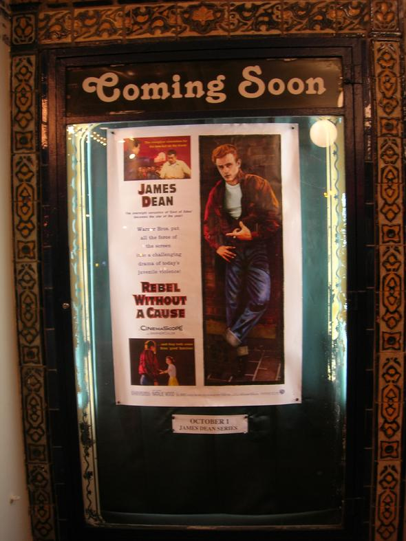 Rebel Without A Cause Movie Poster Castro Theatre San Francisco